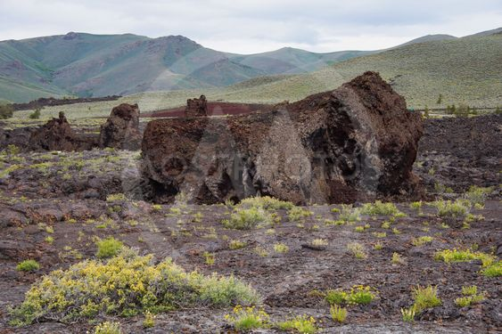 Craters of the Moon National Monument and Preserve, Arco,...