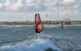 Windsurfing i Träslövsläge, Varberg - Silvertid