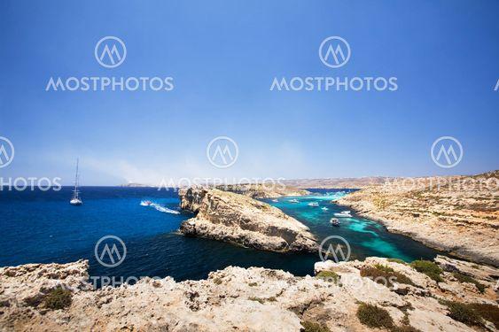 Comino och Gozo Island