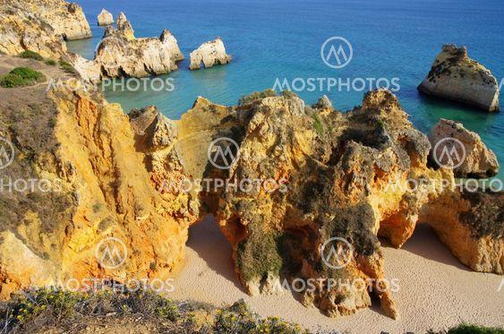 Algarve Strand Dos Tres Irmaos - Algarve beach Dos Tres...