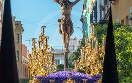 Jesus on the Cross in Seville, Spain