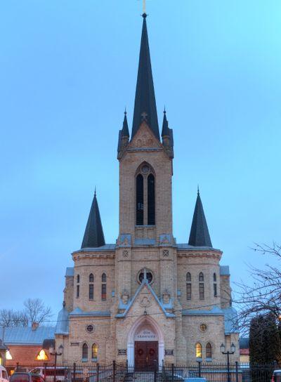 German Lutheran Church in Lutsk