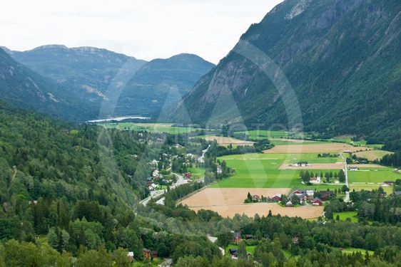 Valley in Norway