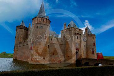 Muiden castle in the Netherlands