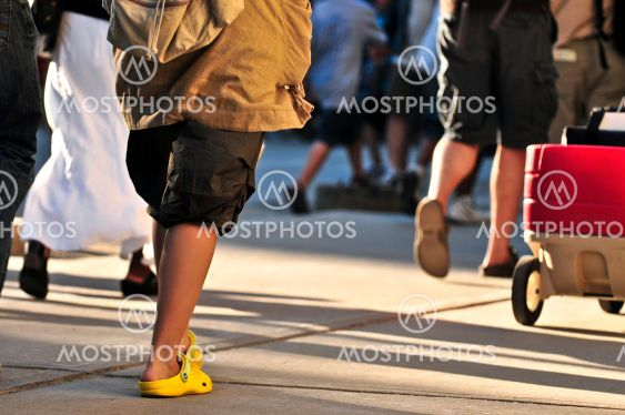 Walking mennesker