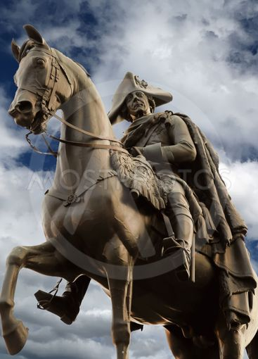 Equestrian statue of Frederick the Great in Berlin