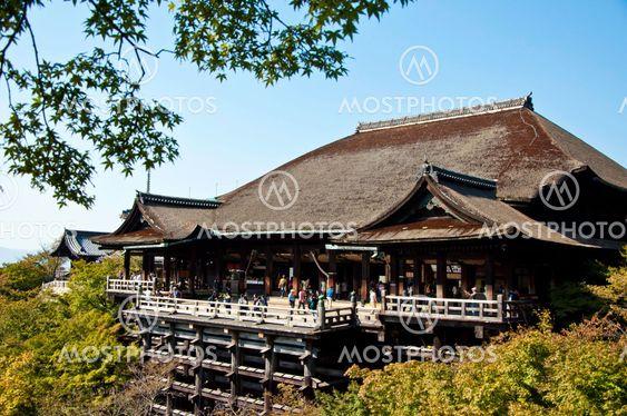Kiyomizu Dera buddhist temple in Kyoto, Japan