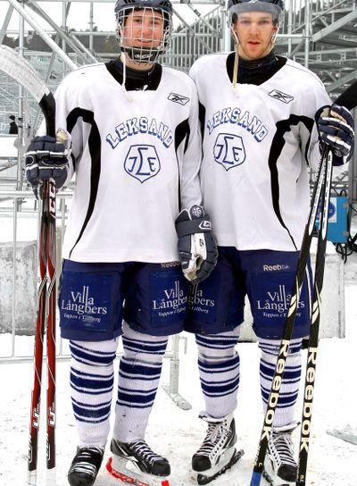 Filip Forsberg och Kenny Källström Leksands IF 2011-02-26