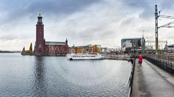 Stockholm, stadshuskajen