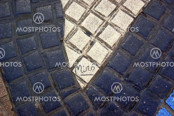 Signature of Miro