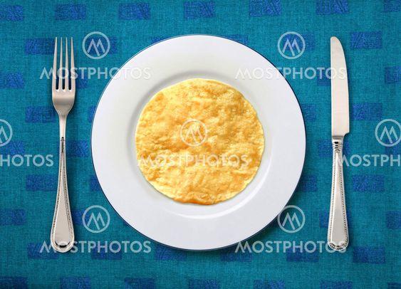 plate with slapjack