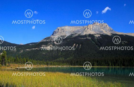 Fossils Range at Emerald Lake, Yoho National Park, Canada