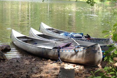 Kanoter med paus