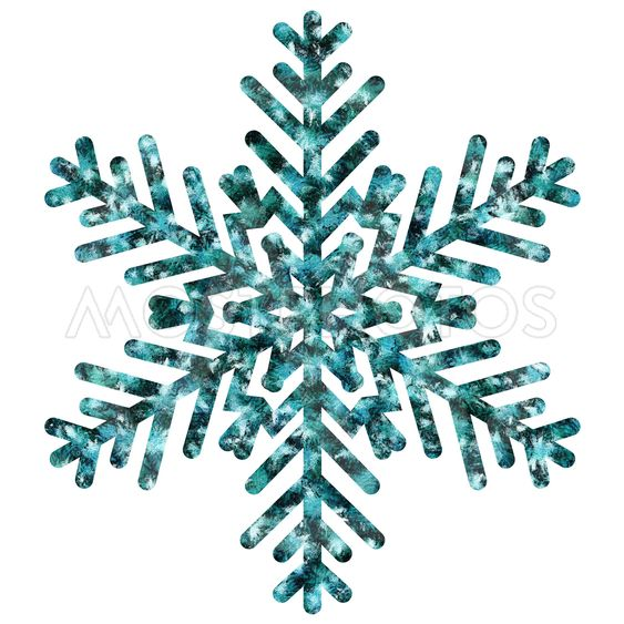 A decorative symbol of winter