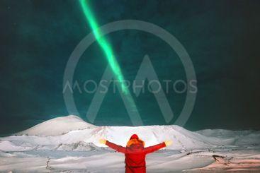northern lights aurora