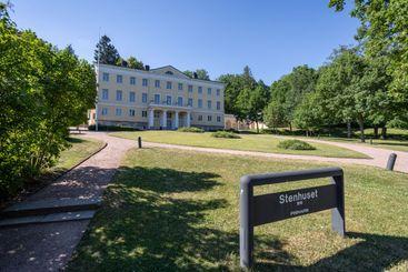 The Manor house or Stenhuset in Fiskars Ironworks village