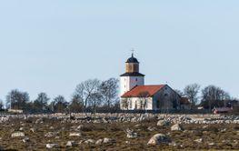 Stenåsa kyrka på sydöstra Öland