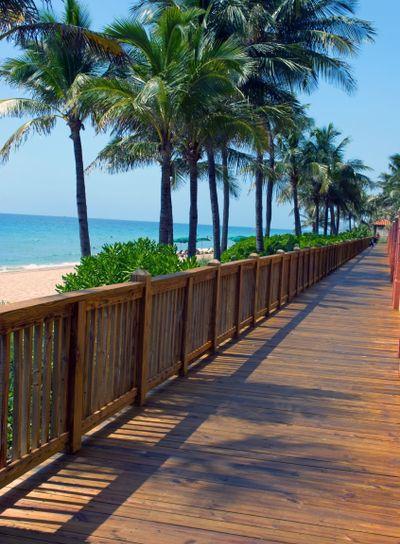 Beach Board Walk