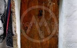 Old door in Ibiza