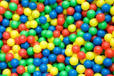 color balls background