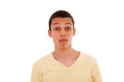 Strange face