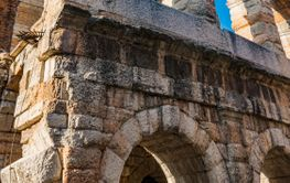 Ancient Verona Arena in Italy