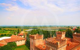 Beautiful old italian castle hosting wedding in the...