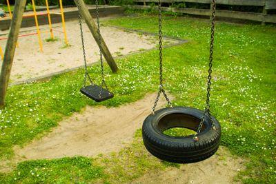Empty seats of swing