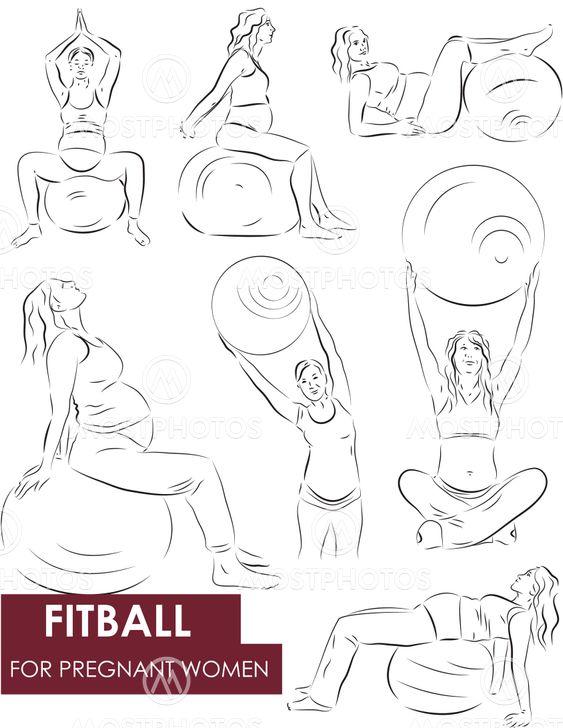 Fitball för gravida