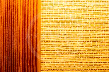 The texture of the wooden wall. Background. Place for text.