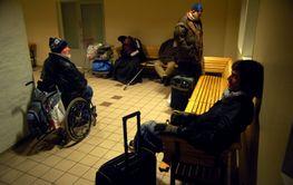 Homeless in Stockholm!