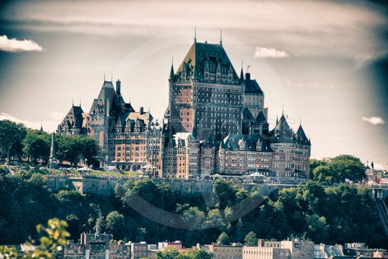 Architecture and Colors of Quebec City