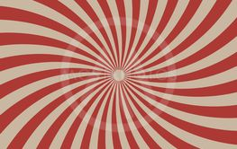 Circus graphic radius effects red retro color and light...