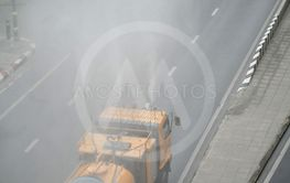 The Water spray Truck for treatment  air pollution