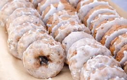 bakery blueberry donuts