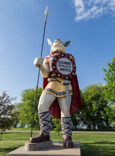 Statue of Big Ole the Viking