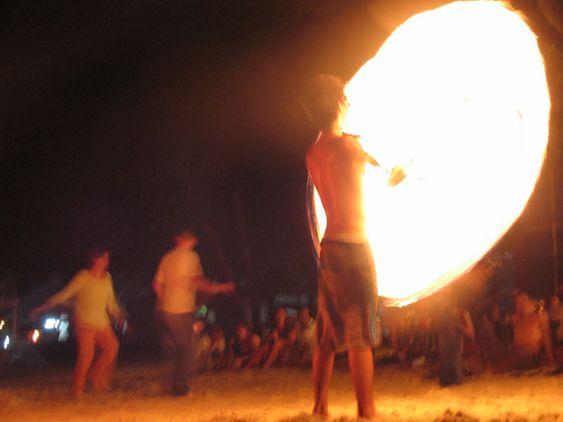 mand på brand