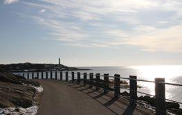 Februari 2020 Strandpromenaden i Varberg - Silvertid