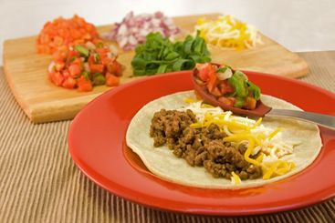 mexican soft taco