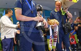 Ukraine National Team, the winner of FIFA U-20 World Cup...