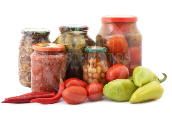 Friske og konserverede grøntsager