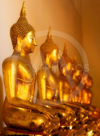 Buddhas in Wat Po
