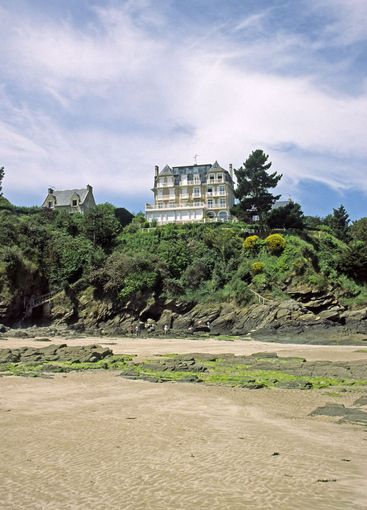 St-At the beach of St-Cast-le-Guildo