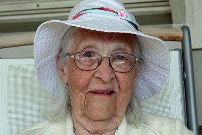 happy pensioner
