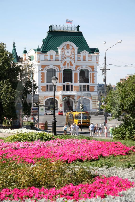 City Council building in Nizhny Novgorod
