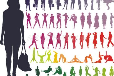 Silhouettes Women
