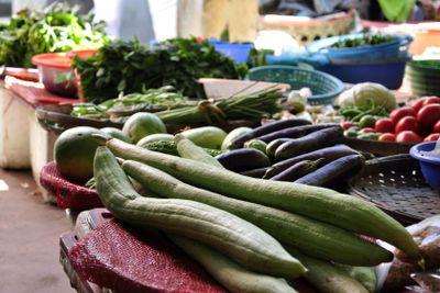 Vegetables on market