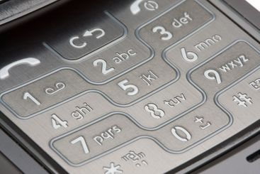Cell Phone Number Pad Macro
