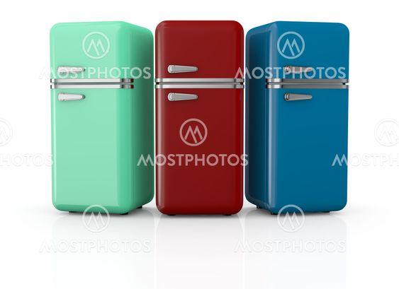 vintage køleskab