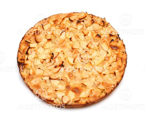 whole dessert apple pie
